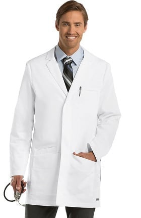 "Grey's Anatomy Classic Men's 35"" Lab Coat"