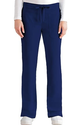 Signature by Grey's Anatomy Women's Drawstring Waist Scrub Pant