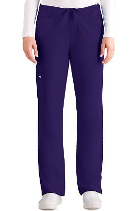 Clearance Signature by Grey's Anatomy Women's Cargo Scrub Pant