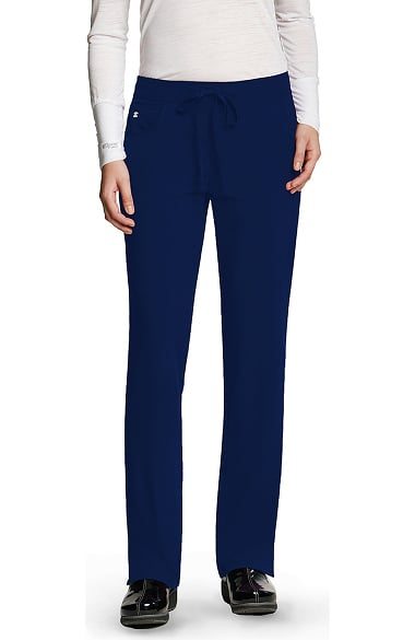 Signature by Grey's Anatomy Women's Low Rise Drawstring Scrub Pant