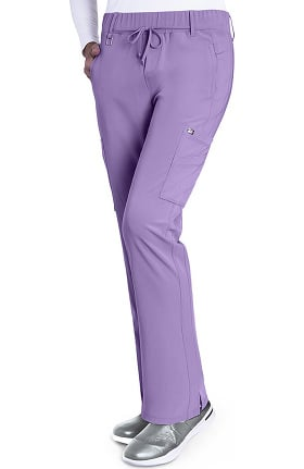 Clearance Signature by Grey's Anatomy Women's Olivia Trouser Cargo Scrub Pant