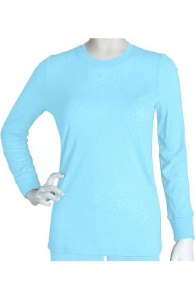 Clearance Grey's Anatomy™ Women's Long Sleeve Rib Crewneck Tee