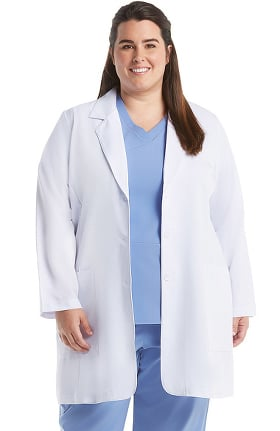 Signature by Grey's Anatomy Women's 3 Pocket Stretch 35'' Lab Coat