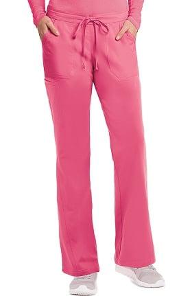 Clearance NRG by Barco Uniforms Women's Half-Elastic, Half-Drawstring Waist Scrub Pant