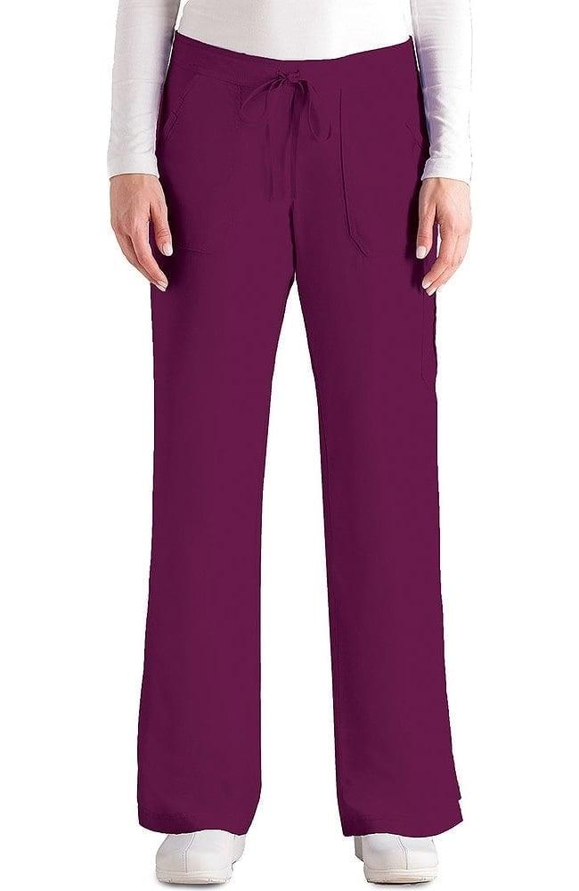 Grey\'s Anatomy™ Women\'s 4-Pocket Elastic Back Scrub Pant | allheart.com