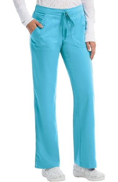 Grey's Anatomy Classic Women's 4-Pocket Elastic Back Scrub Pant