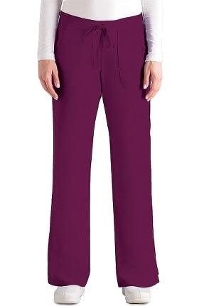 Grey's Anatomy Classic Women's 4-Pocket Elastic Back Scrub Pant