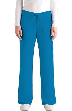 Women's 4-Pocket Elastic Back Scrub Pants