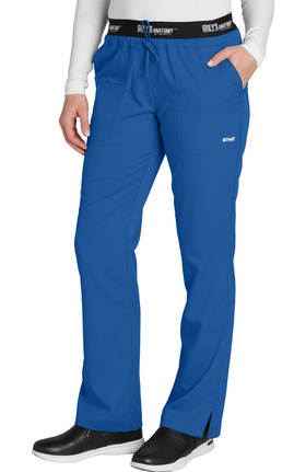 Active by Grey's Anatomy™ Women's Logo Elastic Drawstring Waist Scrub Pant