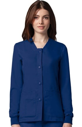 Clearance Grey's Anatomy™ Classic Women's Sporty Button Front Jacket