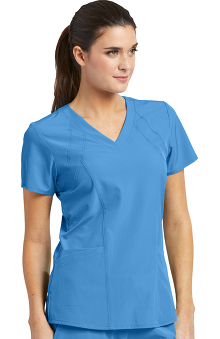 Barco One Women's V-Neck Solid Scrub Top