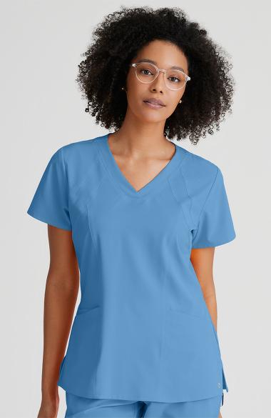 e400591ef0a Barco One™ Women's V-Neck Solid Scrub Top | allheart.com
