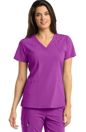 Clearance Barco One™ Women's V-Neck Solid Scrub Top