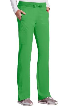 Barco One™ Women's Knit Waistband Cargo Track Scrub Pant