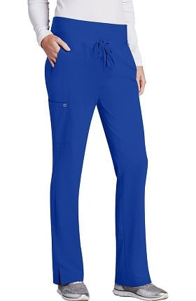 Barco One™ Women's Flare Leg Knit Waistband Cargo Scrub Pant