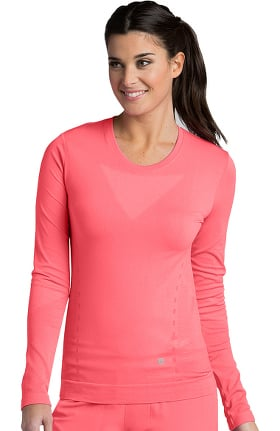 Barco One™ Women's Long Sleeve Seamless Solid T-Shirt
