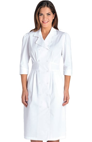 Lab Coats By Barco Uniforms Women S Embroidered Tuck Waist