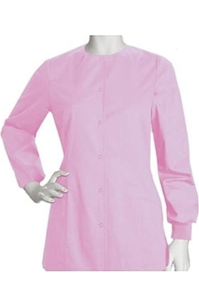 Clearance ICU by Barco Uniforms Women's Princess Warm Up Solid Scrub Jacket