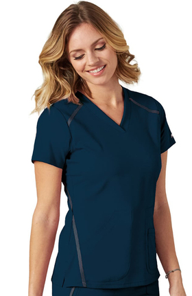 iMPACT by Grey's Anatomy™ Women's V-Neck Solid Scrub Top