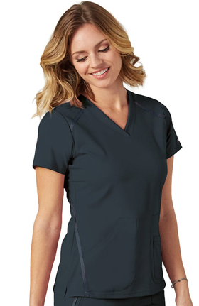 iMPACT by Grey's Anatomy Women's V-Neck Solid Scrub Top
