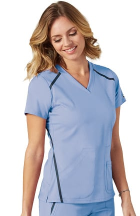 Clearance iMPACT by Grey's Anatomy™ Women's V-Neck Solid Scrub Top