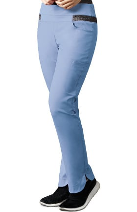 Clearance iMPACT by Grey's Anatomy Women's Space Dye Cargo Scrub Pant