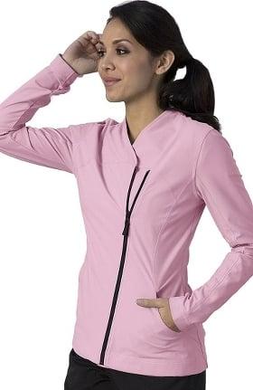 Clearance iMPACT by Grey's Anatomy™ Women's Asymmetric Zip Solid Scrub Jacket