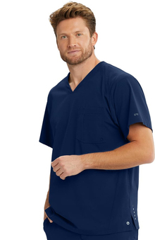 Barco One Men's Vortex Solid Scrub Top