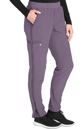 Wellness by Barco One Women's Flat Waistband Cargo Trouser Scrub Pant