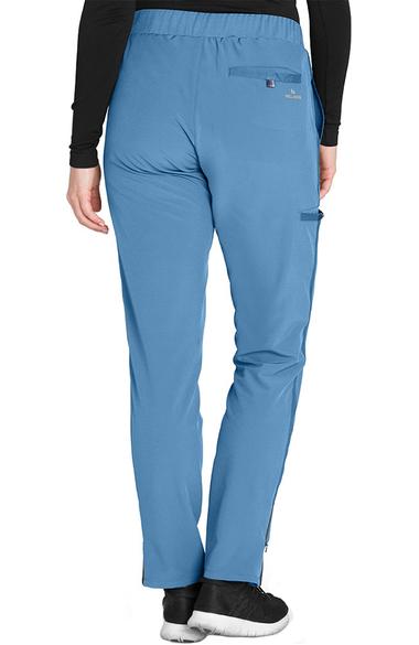 703a0fd8045 Women's Flat Waistband Cargo Trouser Scrub Pant. Wellness by Barco One ...