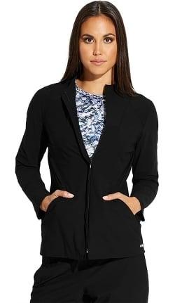 Edge by Grey's Anatomy Women's Luna Solid Scrub Jacket