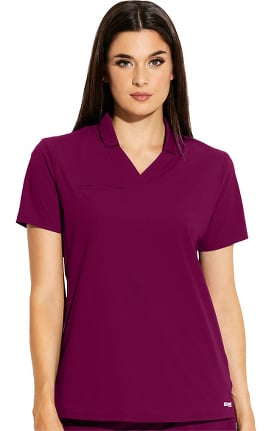 Edge by Grey's Anatomy Women's Lyra Polo Shirt