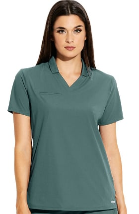 Clearance Edge by Grey's Anatomy Women's Lyra Polo Shirt