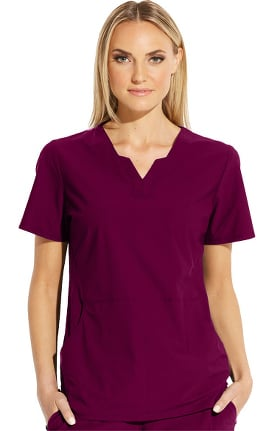 Clearance Edge by Grey's Anatomy Women's Axis Solid Scrub Top