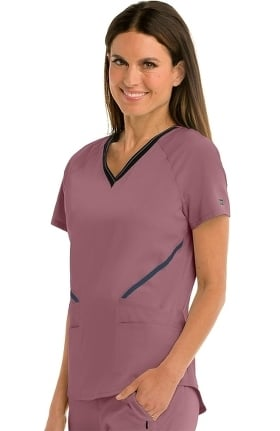 iMPACT by Grey's Anatomy Women's Elite Solid Scrub Top