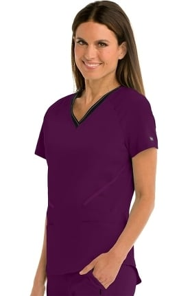 Clearance iMPACT by Grey's Anatomy Women's Elite Solid Scrub Top