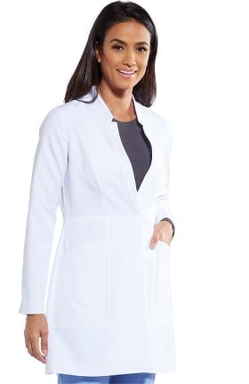 Signature by Grey's Anatomy Women's Snap Front Lab Coat