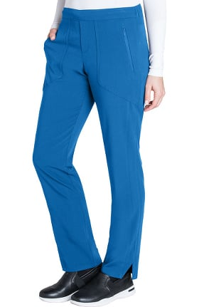 Signature by Grey's Anatomy™ Women's Flat Front Trouser Ankle Scrub Pant