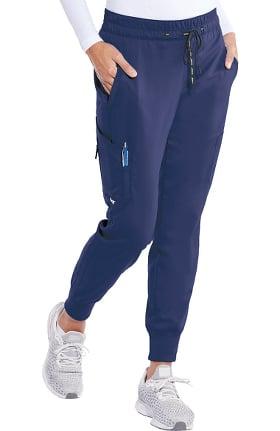 Spandex Stretch by Grey's Anatomy Women's Kira Jogger Scrub Pant
