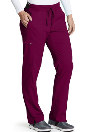 Spandex Stretch by Grey's Anatomy Women's Kim Colorblock Scrub Pant