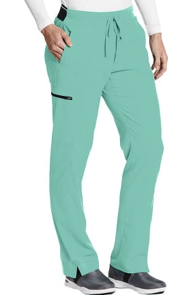 Clearance Spandex Stretch by Grey's Anatomy Women's Kim Colorblock Scrub Pant
