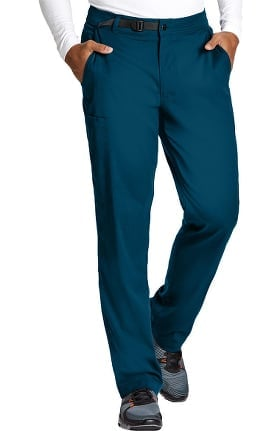 Spandex Stretch by Grey's Anatomy Men's Wesley Cargo Scrub Pant