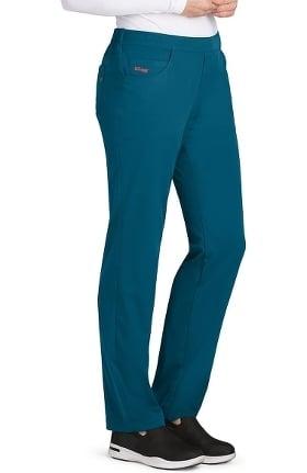 Spandex Stretch by Grey's Anatomy Women's Emma 5 Pocket Scrub Pant