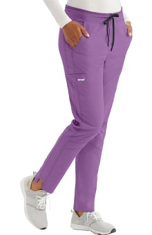 Spandex Stretch by Grey's Anatomy Women's Track Cargo Scrub Pant
