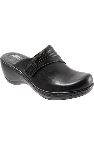 Mason Suede and Leather Clogs UqSmzQS