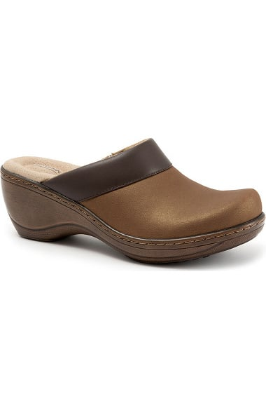 Softwalk Women's Murietta Clog - Tan Nubuck - 008