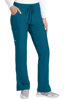 Skechers Women's Reliance Drawstring Cargo Scrub Pant