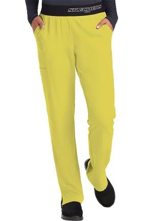 Clearance Skechers Women's Vitality Logo Elastic Waistband Scrub Pant