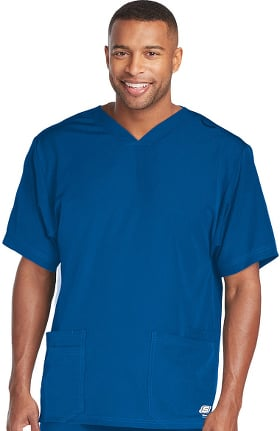 Clearance Skechers Men's Sport V-Neck Solid Scrub Top
