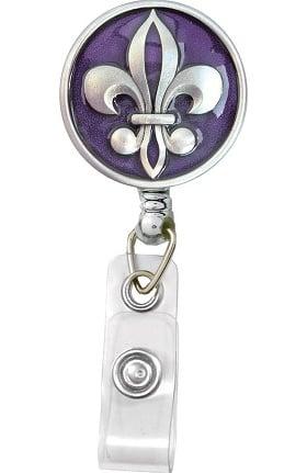 BooJee Beads Large Pewter Badge Reel
